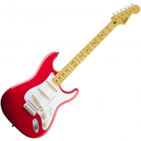 Squier - Guitare électrique Squier Stratocaster Classic vibe '50s Maple fiesta red - Euroguitar.com (Fiesta red)