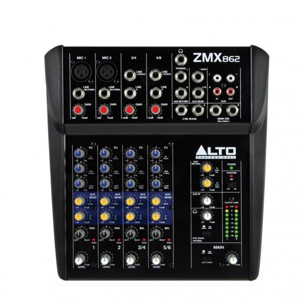 table de mixage zephyr zmx 862