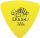 Dunlop Tortex triangle 0.73mm yellow