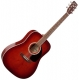Art & Lutherie Dreadnought Spruce burgundy