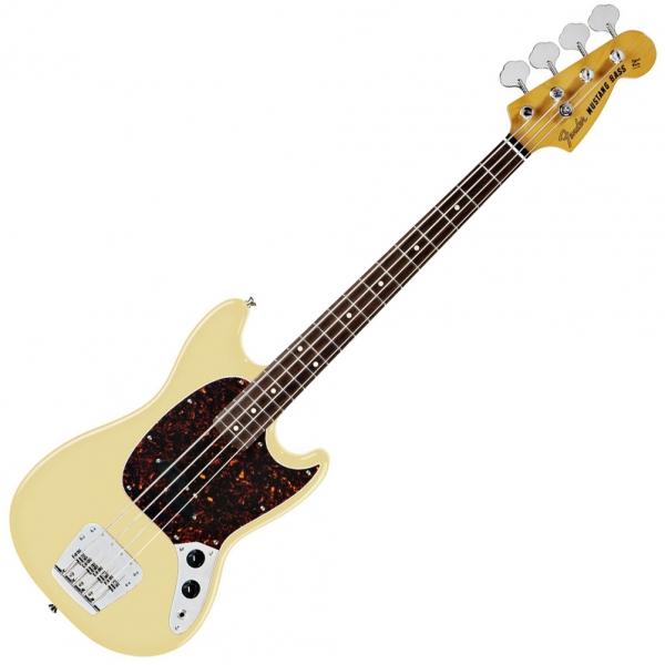 achat fender mustang bass classic japan ltd rw vintage white euroguitar. Black Bedroom Furniture Sets. Home Design Ideas