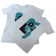 Fender  Juniors Word T-Shirt XS/10 teal - s teal