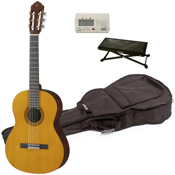 achat pack yamaha cs40 ii accordeur housse repose pied natural gloss euroguitar. Black Bedroom Furniture Sets. Home Design Ideas